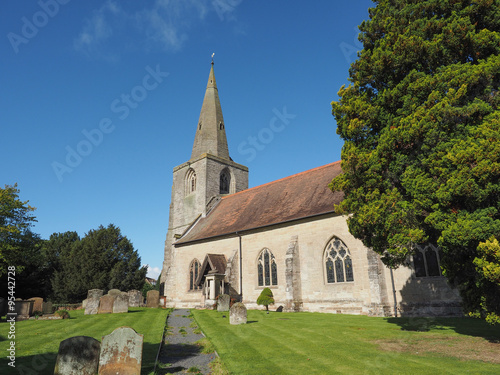 Photo  St Mary Magdalene church in Tanworth in Arden