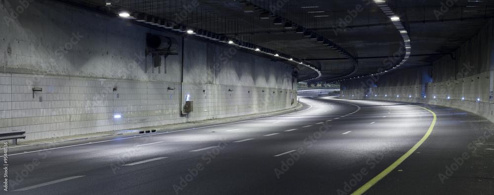Fototapeta Highway at Night