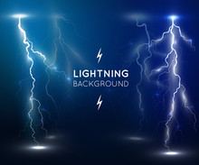 Lightning Flash Strike Backgro...
