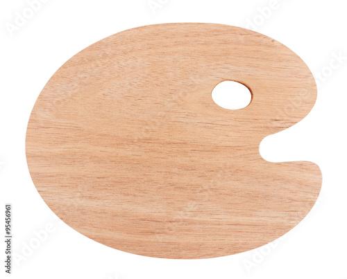 Fotografia Wooden art palette