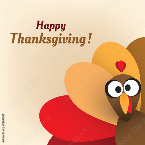 happy thanksgiving card design template buy this stock vector and