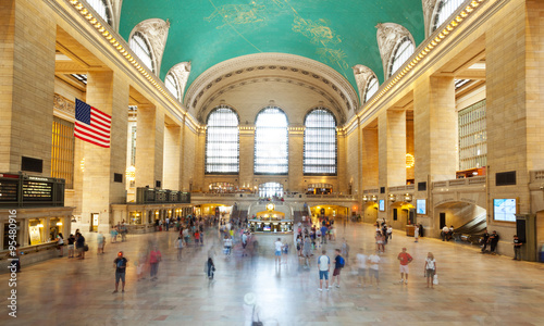 Photo Main hall Grand Central Terminal, New York