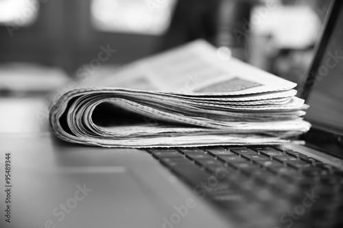 Fototapeta Zeitung Presse Journalismus obraz