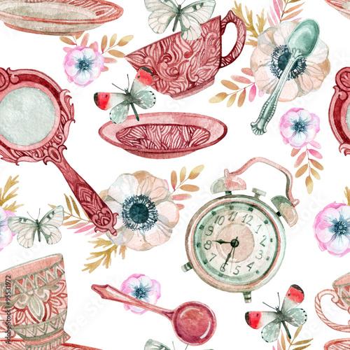 akwarela-herbata-wzor