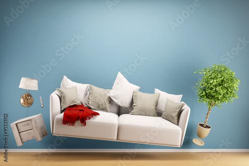 Fotografie, Obraz Zero Gravity Sofa
