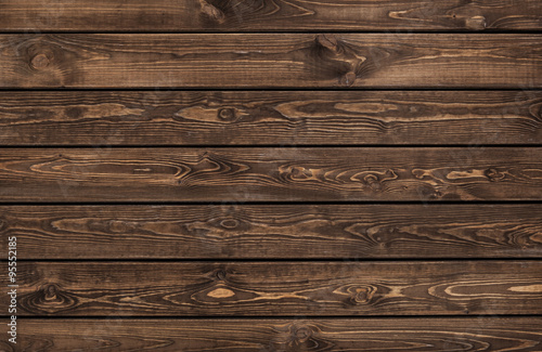 Tuinposter Hout dark wood texture. background old panels
