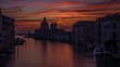 Sunrise at Santa Maria della Salute in Venice Timelapse