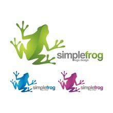 Simple Frog Creative Logo Design