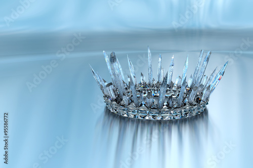 Fotografie, Obraz  Princess Ice Crown