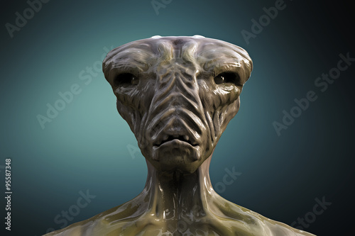 Fotografía  SCIFI alien portrait