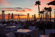 Beautiful Sunset At The Beach ...