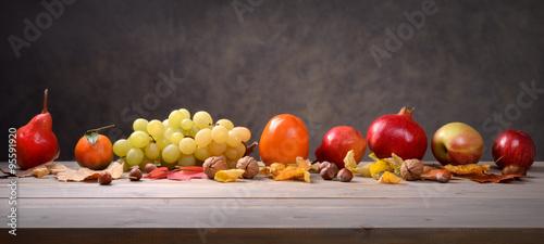Poster Fruit Autumn fruit