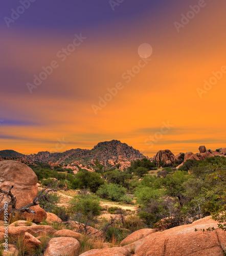 Foto op Canvas Texas Texas Canyon