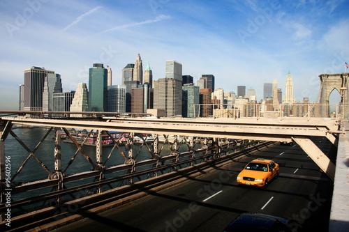 Staande foto New York TAXI New York City