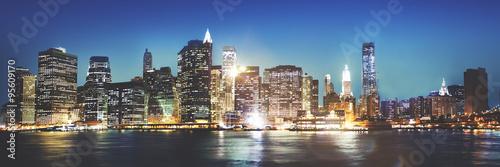 Fototapeten New York Cityscape Urban Scene Outdoors Skyline Concept
