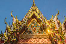 Wat Pho Temple Bangkok Thailand (They Are Public Domain Or Treasure Of Buddhism No Restrict In Copy Or Use)