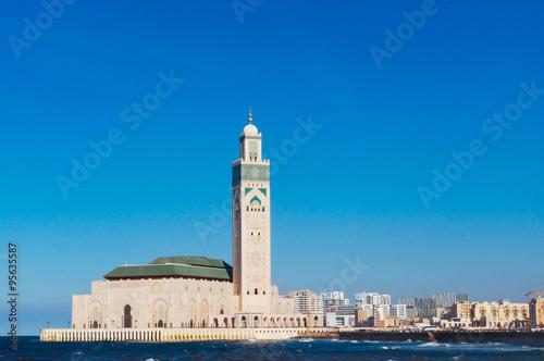Foto  Hassan II Mosque in Casablanca