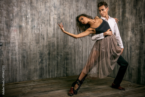 fototapeta na szkło ballet dancing