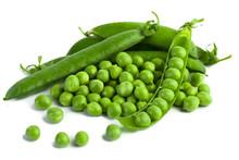 Green Pea Pod, Green Peas, Whi...
