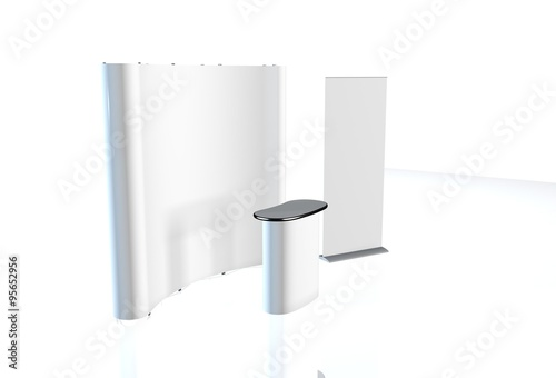 Exhibition Stand Advertising : Trade exhibition stand exhibition stand round d rendering