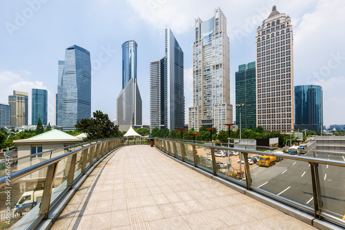 Staande foto Los Angeles Shanghai urban landscape in China