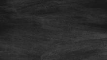 Close Up Of Clean School Blackboard