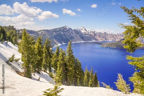 Stampa su Tela crater lake national park