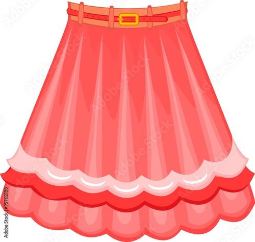 Fotografia pink skirt