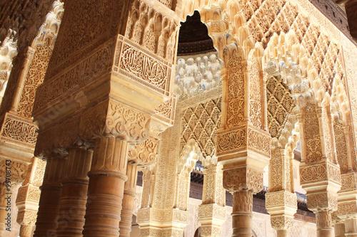 Alhambra de Grenade (Espagne) Canvas Print