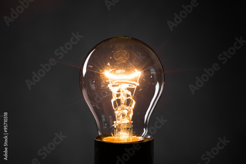 Photo  Light bulb