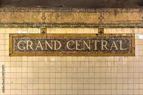 Fotografía Grand Central Subway Station - New York City