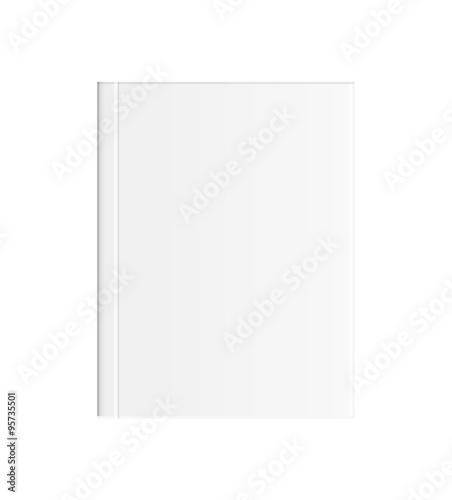 Valokuva  white blank book