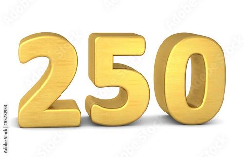 Papel de parede  zahl cipher 250 gold vertikal