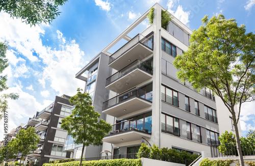 Obraz Gebäude in Deutschland, Wohnung - fototapety do salonu