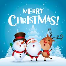 Merry Christmas! Happy Christm...