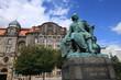 Otto von Guericke Denkmal am Magdeburger Rathaus