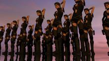 Sexy Female Warrior Chorus Line