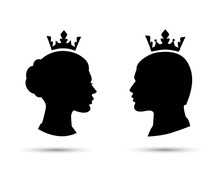 King And Queen Heads, King And...