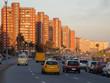 Abendverkehr in Montevideo Uruguay