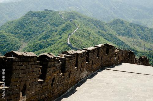 Valokuva Mutianyu Section of the Great Wall of China