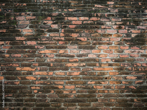 Poster Brick wall OLD BRICK WALL.