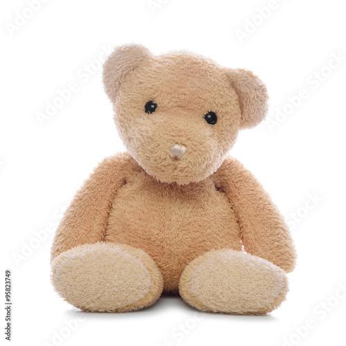Teddy bear isolated. #95823749
