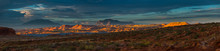 Panorama Henry Mountains, South Central Utah, United States