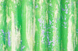 Leinwanddruck Bild - Green metal