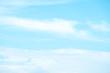 Soft cloud in blue sky
