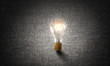 Bright ideas on wall