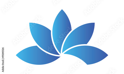 Fleur Lotus Bleu Buy This Stock Vector And Explore Similar Vectors