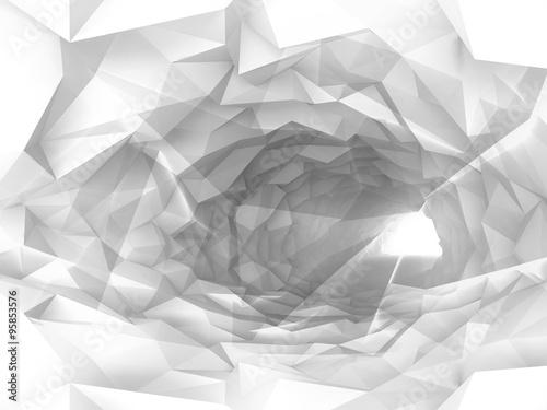 bialy-krystaliczny-tunel-3d