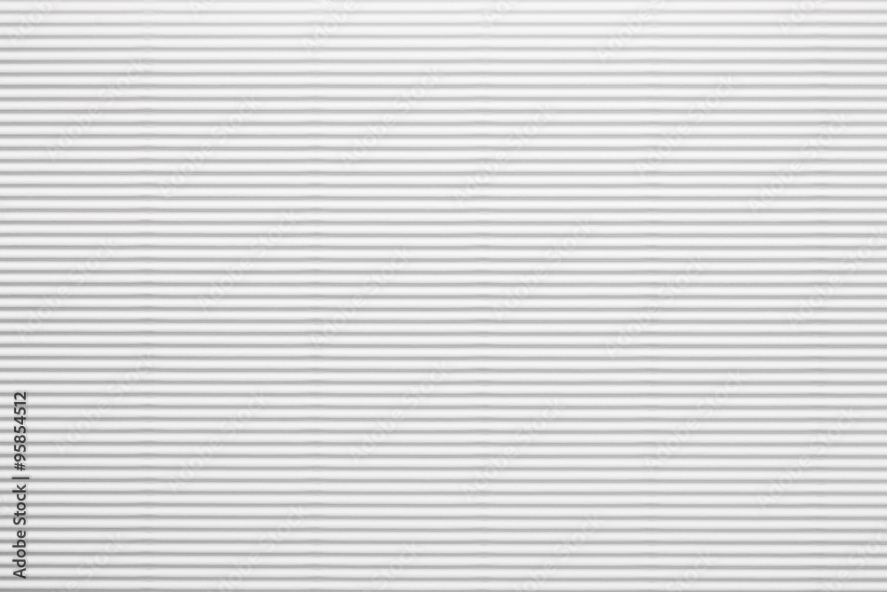 Fototapety, obrazy: White corrugated paperboard texture as a background
