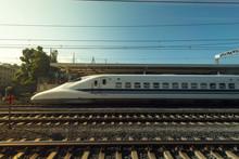 High Speed Japanese Train Called Shinkansen